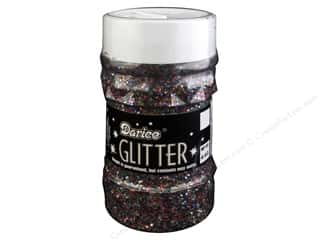 scrapbooking & paper crafts: Darice Glitter Jar 4 oz. Multi Color