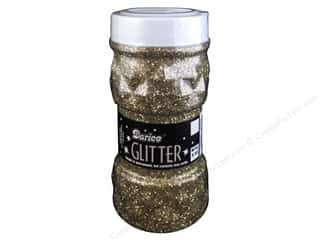 Darice Glitter Jar 8 oz. Gold