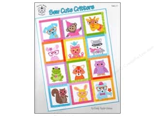 Taylor Made Designs Sew Cute Critters Book