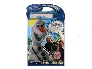 Bendon Imagine Ink Mess Free Game Book Disney Frozen