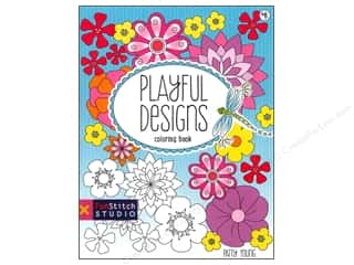 books & patterns: FunStitch Studio By C&T Playful Designs Coloring Book