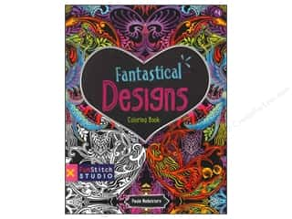books & patterns: FunStitch Studio By C&T Fantastical Designs Coloring Book