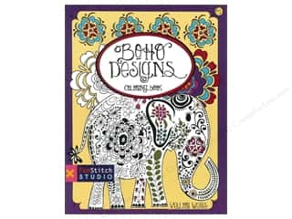 books & patterns: FunStitch Studio By C&T Boho Designs Coloring Book