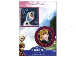 Simplicity Applique Disney Frozen Iron On Olaf & Kris