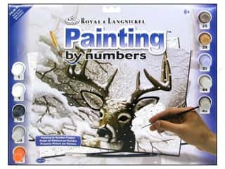Clearance Royal Paint Artist Acrylic: Royal Paint By Number Kit Large Dancing Snow