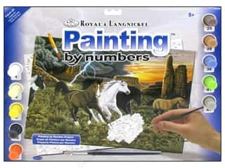 Clearance Royal Paint Artist Acrylic: Royal Paint By Number Kit Large Thunder Run