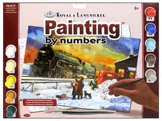 Royal Rub Ons: Royal Paint By Number Kit Large Home For Christmas