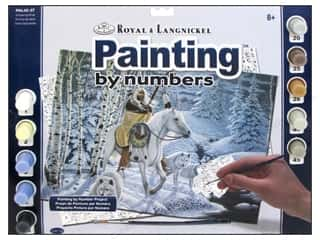 Clearance Royal Paint Artist Acrylic: Royal Paint By Number Kit Large Whispering Winds