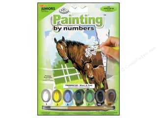 Clearance Royal Paint Artist Acrylic: Royal Paint By Number Kit Mini Mare & Foal