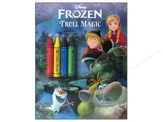 Crayons: Golden Disney Frozen Troll Magic Coloring Book
