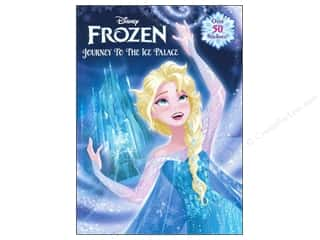 Golden Disney Frozen Journey To The Ice Palace Activity Book