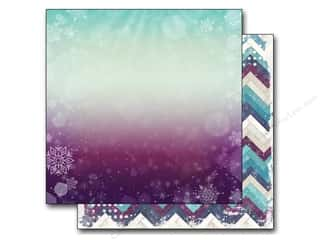 Winter Wonderland Printed Cardstock: Bo Bunny 12 x 12 in. Paper Altitude Cold Snap (25 sheets)
