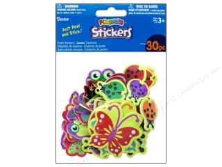 Darice Foamies Stickers 30 pc. Garden Creatures