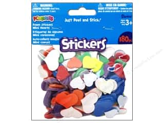 Darice Foamies Stickers 180 pc. Mini Hearts