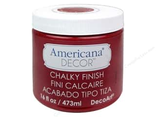 craft & hobbies: DecoArt Americana Decor Chalky Finish 16 oz. Rouge