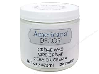 DecoArt: DecoArt Americana Decor Creme Wax 16 oz. Clear Wax