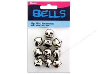Darice Jingle Bells 3/4 in. Silver 10 pc.