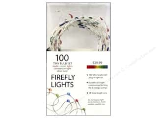 craft & hobbies: Sierra Pacific Lights Firefly LED 100 ct Multi/Silver Cord