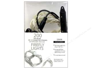 Sierra Pacific Lights Firefly LED 200 ct Cool White/Silver Cord