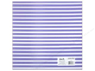 acetate: We R Memory Keepers Acetate Sheet 12 x 12 in. Clearly Bold Neon Purple Stripe (12 sheets)