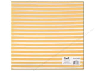 Plastic / Acetate Sheets: We R Memory Keepers Acetate Sheet 12 x 12 in. Clearly Bold Neon Yellow Stripe (12 sheets)
