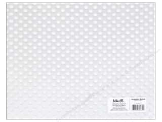 acetate: We R Memory Keepers Acetate Sheet 12 x 12 in. Clearly Bold White Dot (12 sheets)