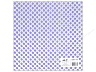 acetate: We R Memory Keepers Acetate Sheet 12 x 12 in. Clearly Bold Neon Purple Dot (12 sheets)