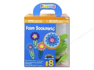 Darice Foamies Activity Bucket Flower Bookmarks