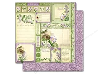 St. Patrick's Day: Graphic 45 12 x 12 in. Paper A Time To Flourish Collection Cut Apart March (25 sheets)
