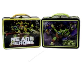Tin Box Co Carry All Tin Large Teenage Mutant Ninja Turtles 1 pc.