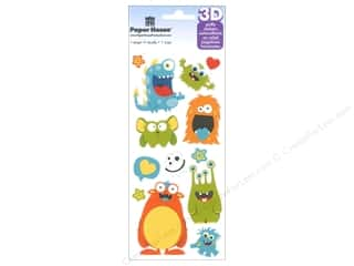 Clearance Paper House Magnet: Paper House Sticker Monsters