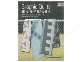 books & patterns: That Patchwork Place Graphic Quilts From Everyday Images Book by Heather Scrimsher
