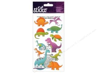 Sticko Dimensional Stickers - Dinosaurs