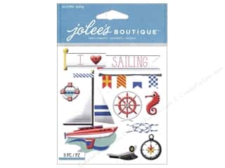 scrapbooking & paper crafts: Jolee's Boutique Stickers Sailing