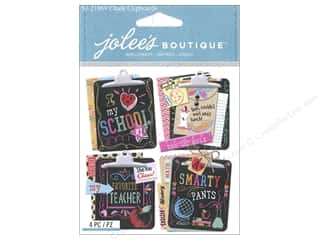 scrapbooking & paper crafts: Jolee's Boutique Stickers Chalk Clipboards