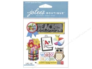 scrapbooking & paper crafts: Jolee's Boutique Stickers Teacher