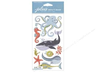 scrapbooking & paper crafts: Jolee's Boutique Stickers Ocean Animals