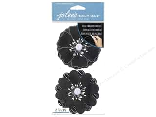 stickers: Jolee's Boutique Stickers Chalkboard Flowers