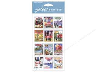 stamps: Jolee's Boutique Stickers Le Grande Travel Stamps