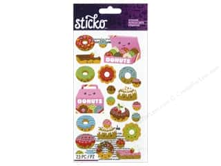 Sticko Stickers - Donut Characters