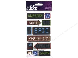 scrapbooking & paper crafts: EK Sticko Stickers Icons & Words Boys