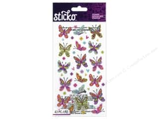scrapbooking & paper crafts: EK Sticko Stickers Spicier Butterflies