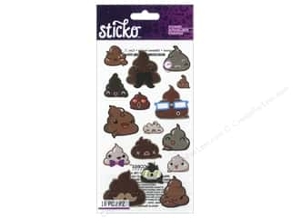 scrapbooking & paper crafts: EK Sticko Stickers Funny Frosting