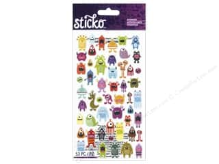 stickers: EK Sticko Stickers Mini Monsters