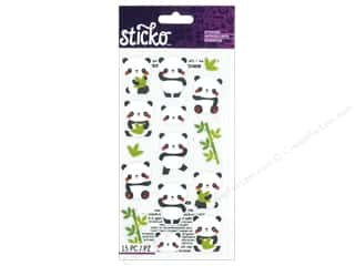 die cuts: EK Sticko Stickers Rolly Polly Panda