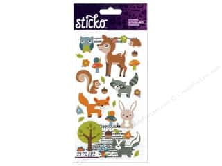 stickers: EK Sticko Stickers Woodland Animals