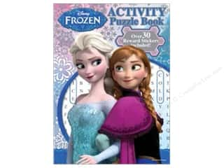 Bendon Activity Puzzle Book with Stickers Disney Frozen