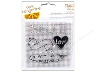 stamps: American Crafts Clear Stamps Amy Tangerine Stitched Day Dream