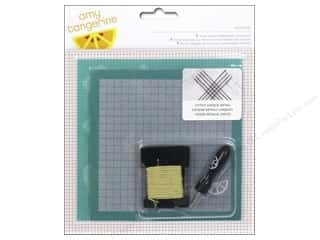 scrapbooking & paper crafts: American Crafts Embroidery Kit Amy Tangerine Stitched Oxford
