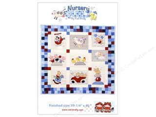 Red Brolly Nursery Quilt Pattern